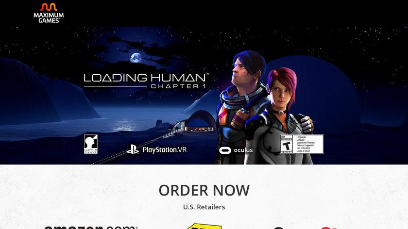 LOADING HUMAN Landing Page
