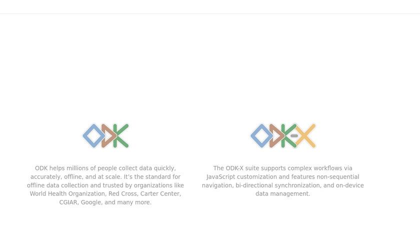 Open Data Kit Landing Page