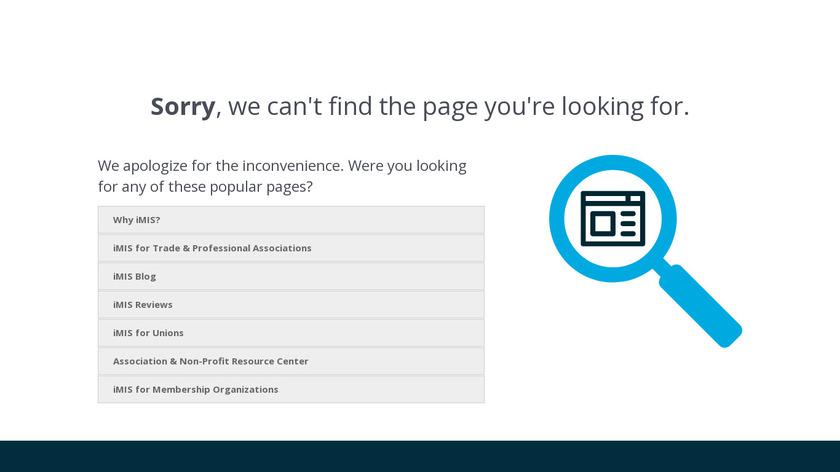 iMIS Landing Page