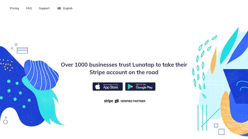 nomod.com Lunatap Landing Page