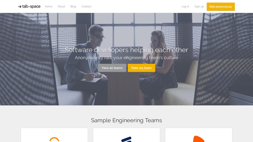 Tabspace Landing Page