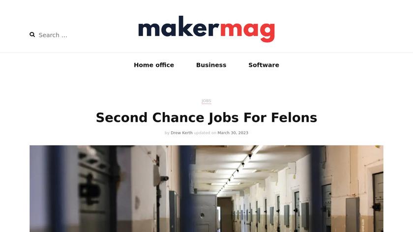 Maker Mag Landing Page
