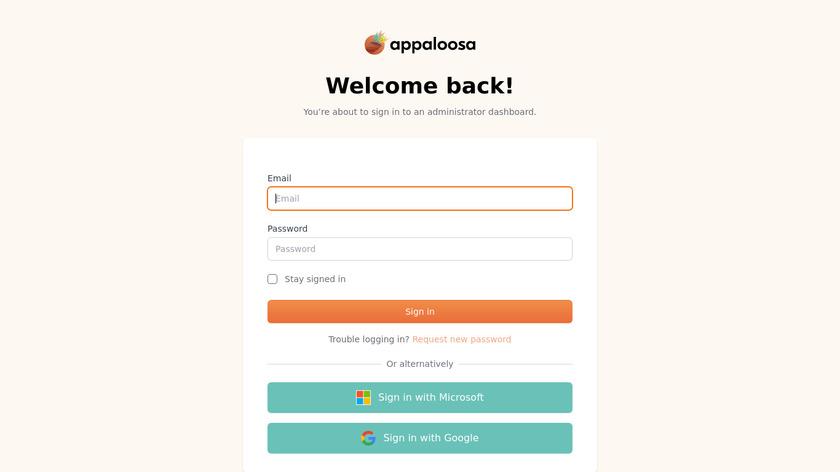 Appaloosa-Store Landing Page
