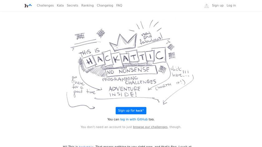 hackattic Landing Page