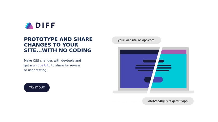 Diff Landing Page