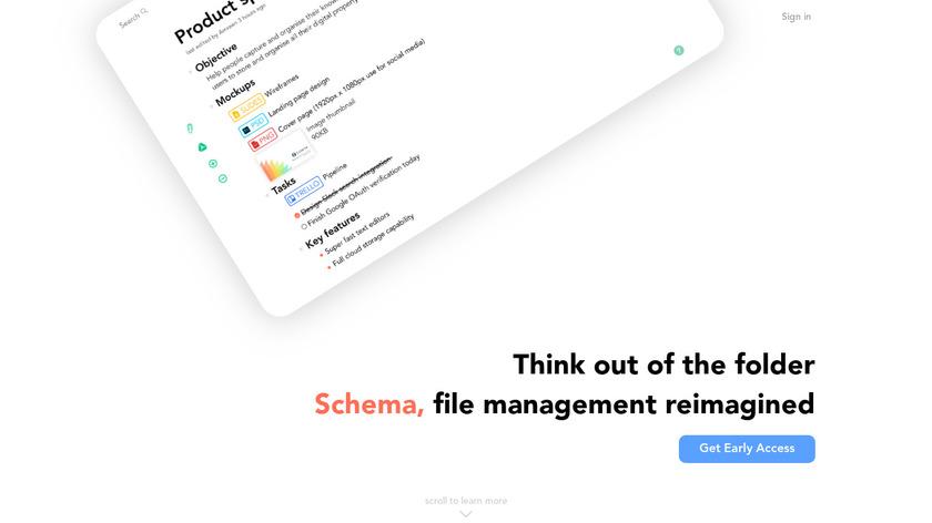Schema Landing Page