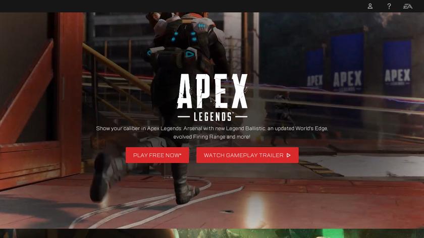 Apex Legends Landing Page