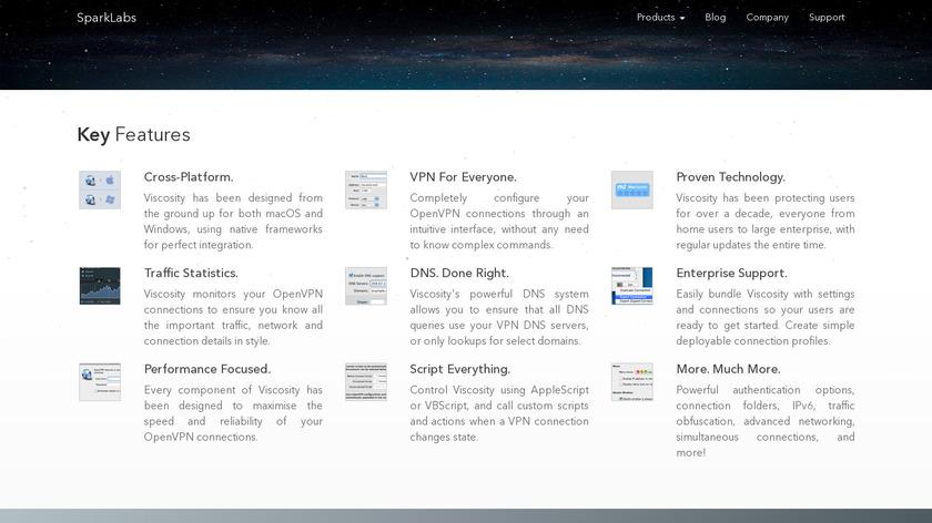 Viscosity Landing Page