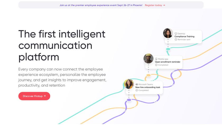 SocialChorus Landing Page
