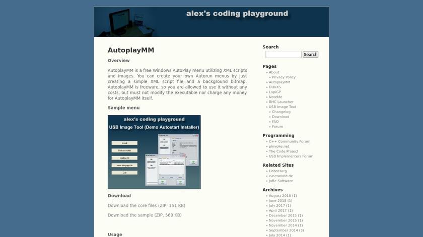 AutoplayMM Landing Page