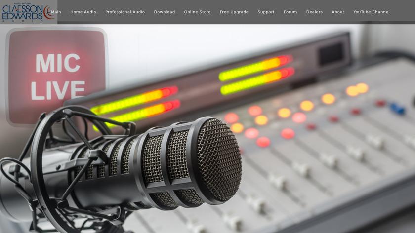 Breakaway Audio Enhancer Landing Page