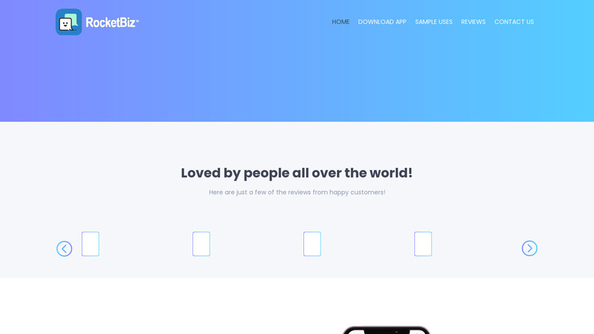TapText Landing Page