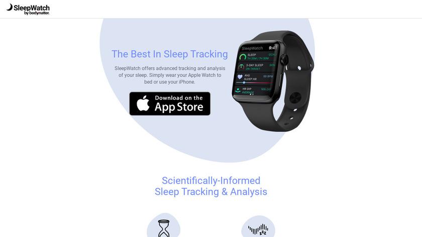 Sleep Watch Landing Page