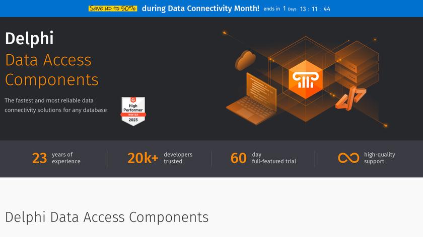 Delphi Data Access Components Landing Page