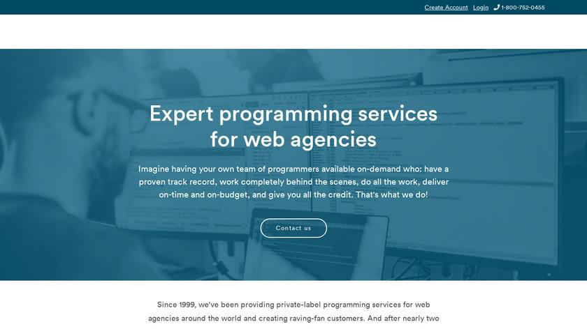 CMS Builder Landing Page