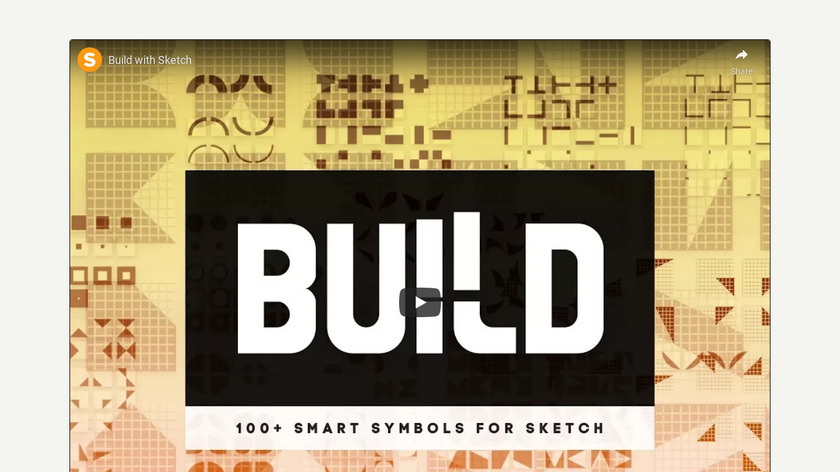 Build with Sketch Landing Page