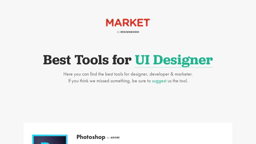 Market by Designmodo Landing Page