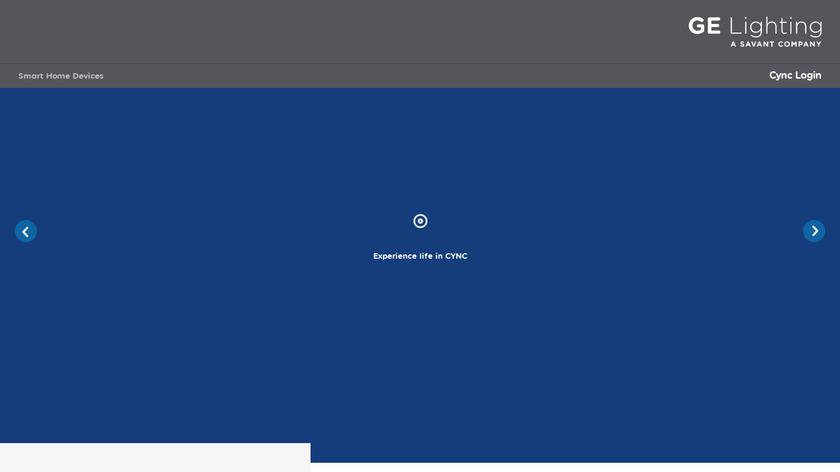GE Sol Landing Page