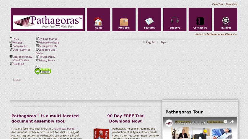 Pathagoras Landing Page