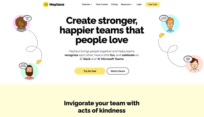 HeyTaco! Landing Page