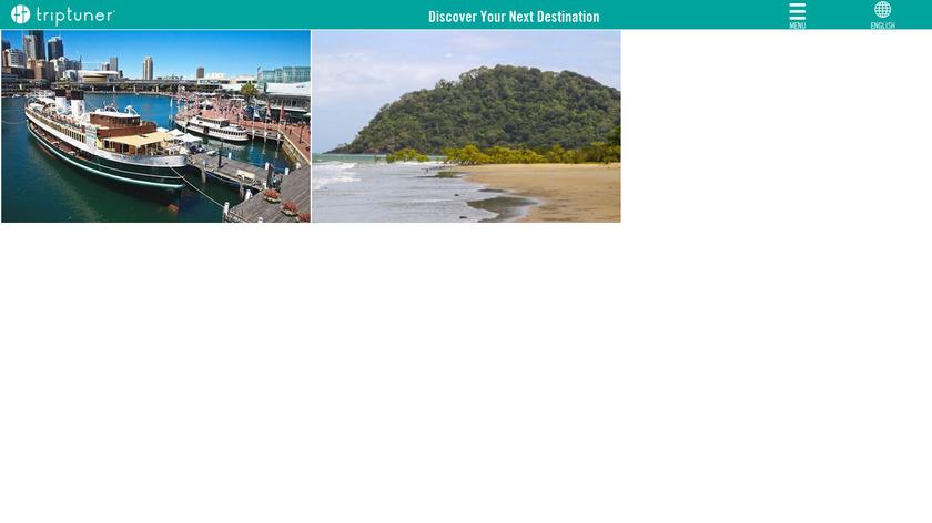 TripTuner Landing Page