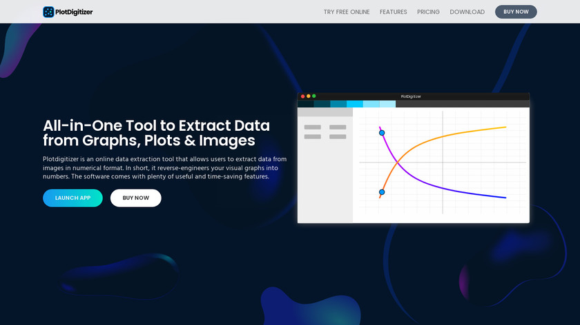 Plot Digitizer Landing Page