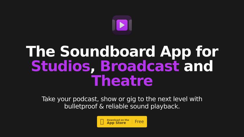 Soundboard Studio Landing Page