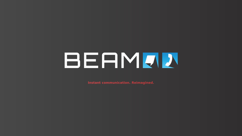 BeamCall Landing Page