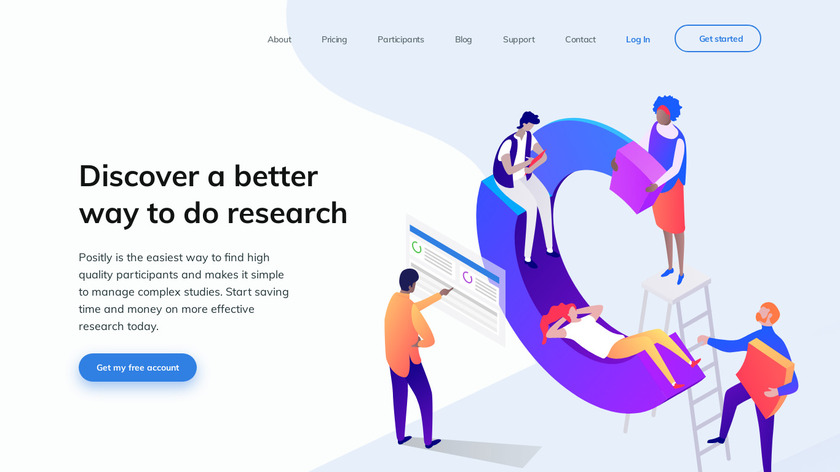 Positly Landing Page