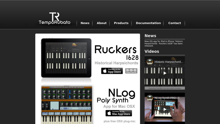 nlog Synth Landing Page