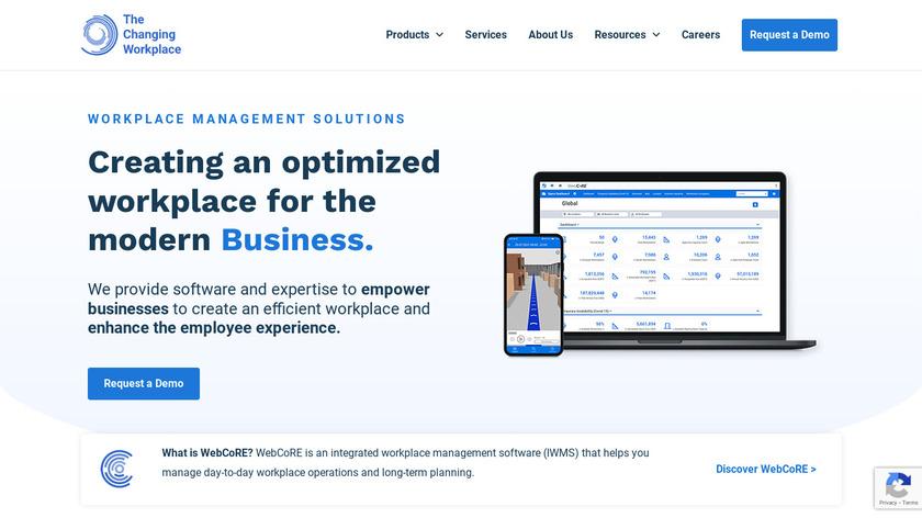 WebCoRE Landing Page
