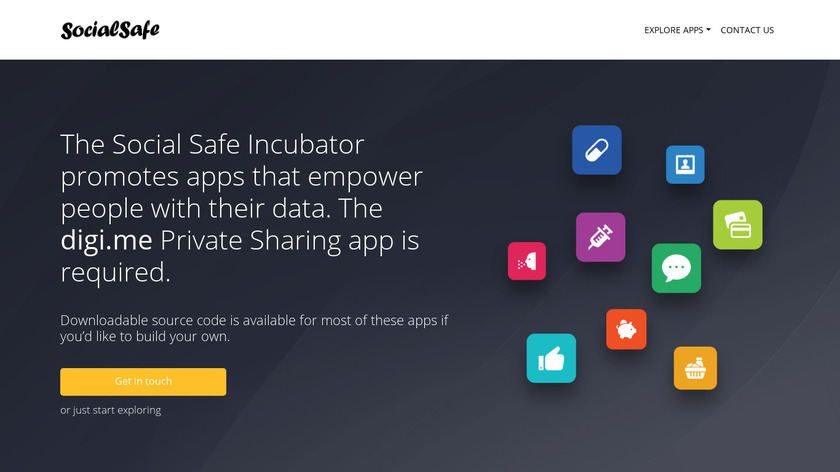 Social Safe Landing Page