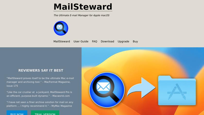 MailSteward Landing Page