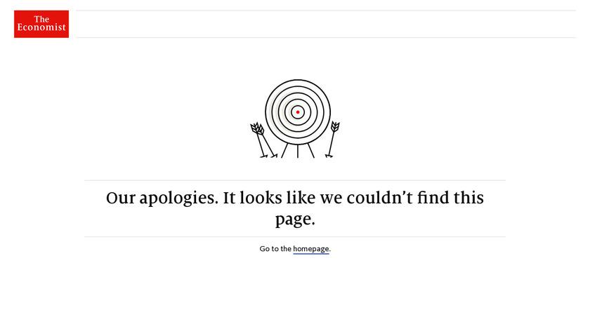 The Economist Landing Page