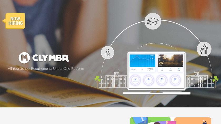 Clymbr.in Landing Page