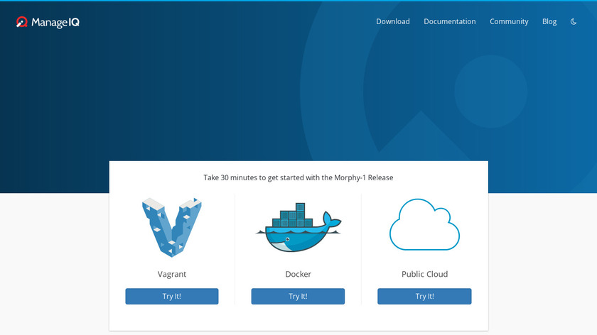 ManageIQ Landing Page