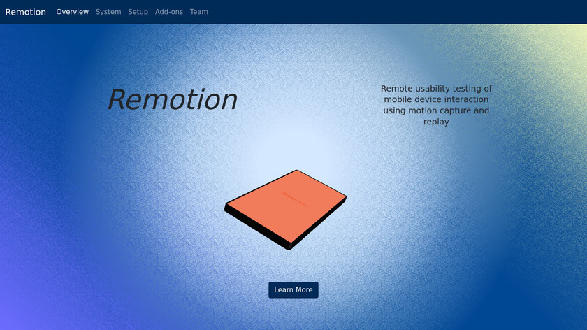 Remotion Landing Page