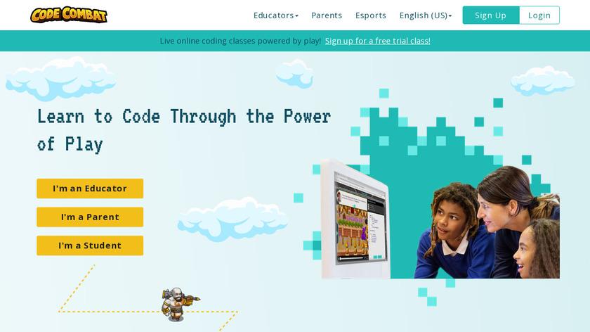 CodeCombat Landing Page