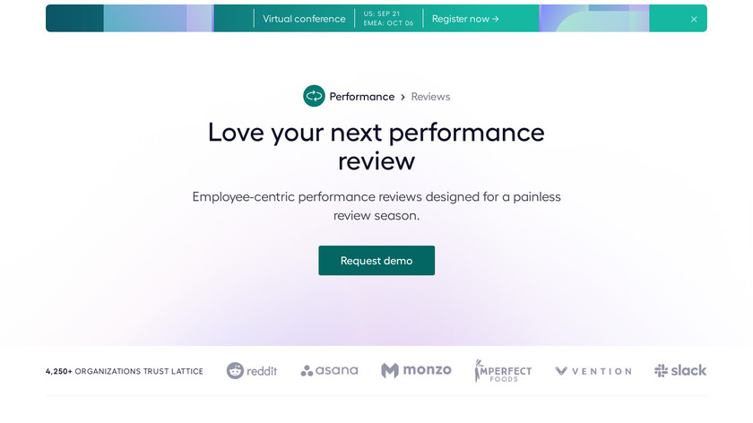 Lattice Reviews Landing Page