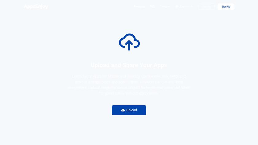 AppsEnjoy Landing Page
