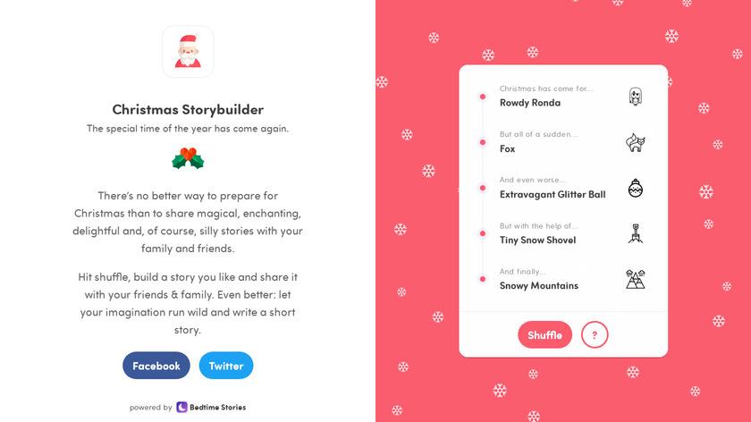 Christmas Storybuilder Landing Page