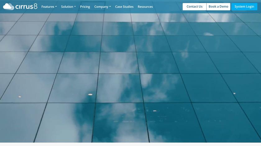 cirrus8 Landing Page