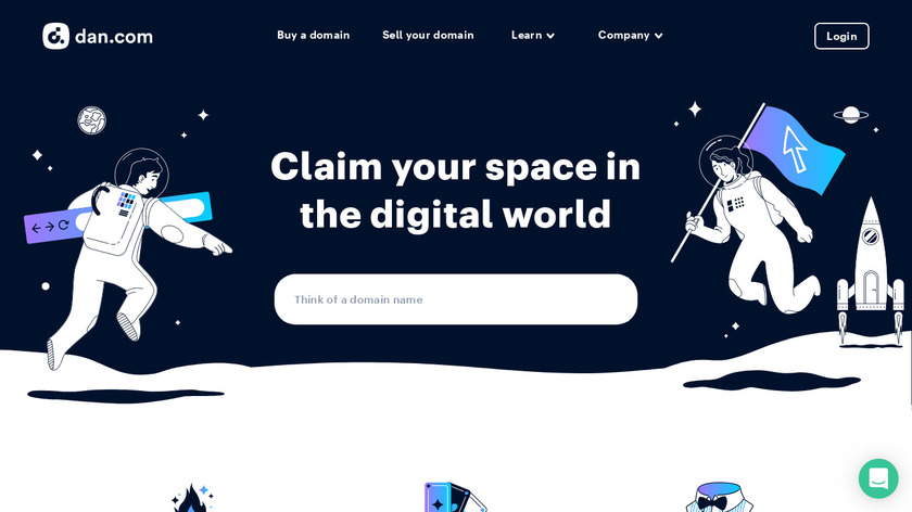 Undeveloped Landing Page