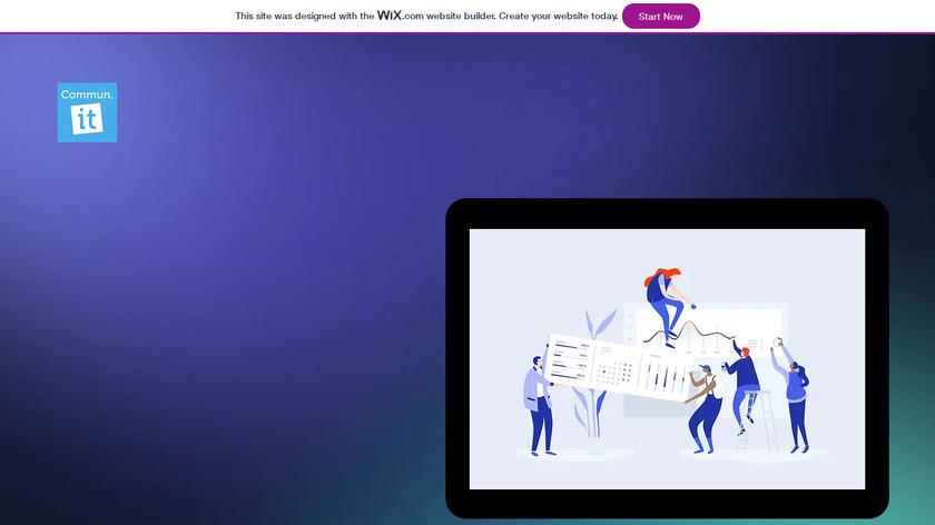 Commun.it Landing Page