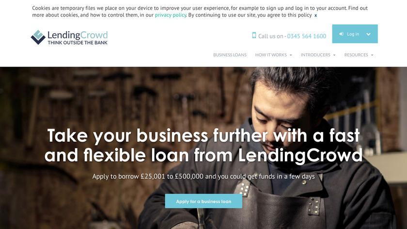 LendingCrowd Landing Page
