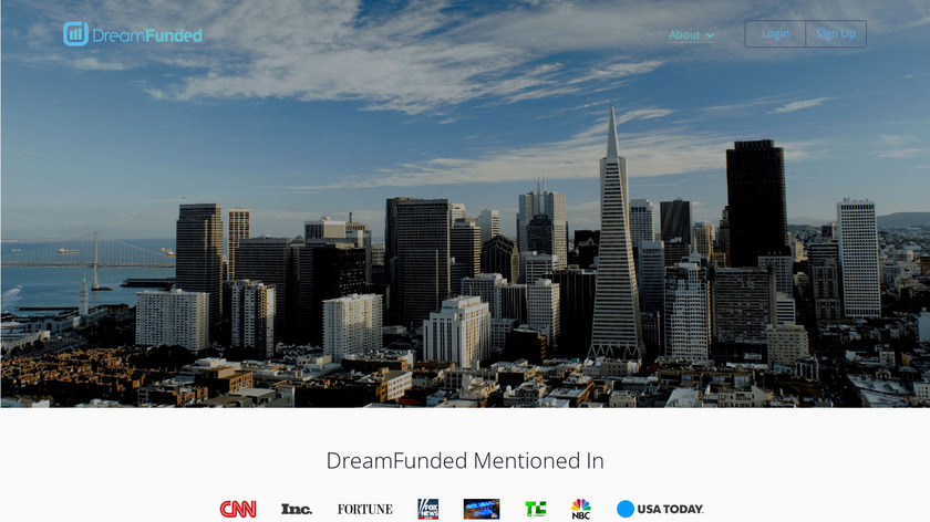 DreamFunded Landing Page