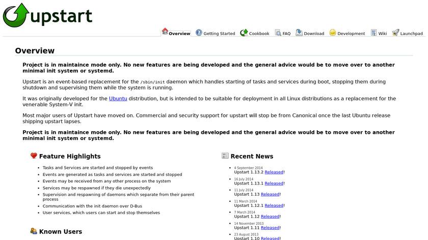 Upstart Landing Page