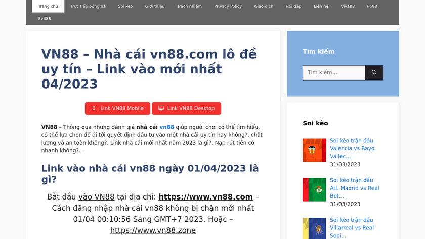 WebSVN Landing Page