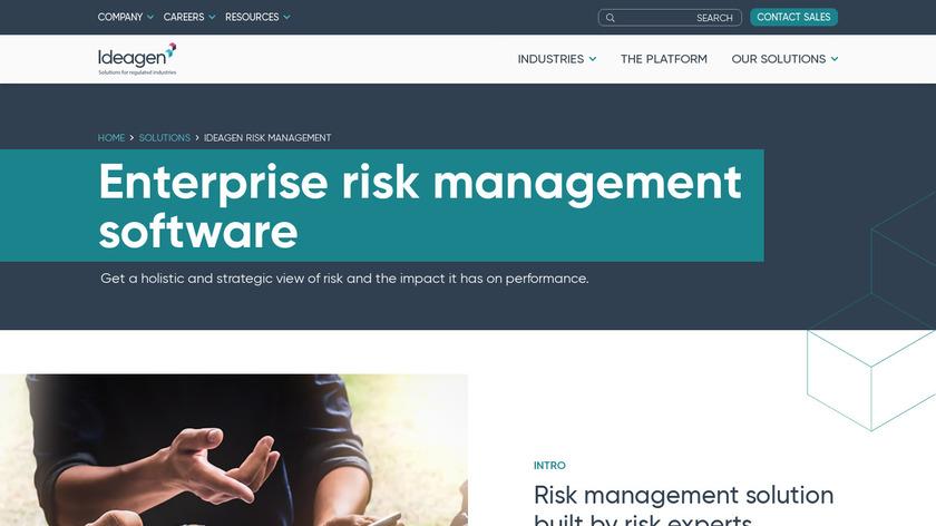 Ideagen Covalent Landing Page