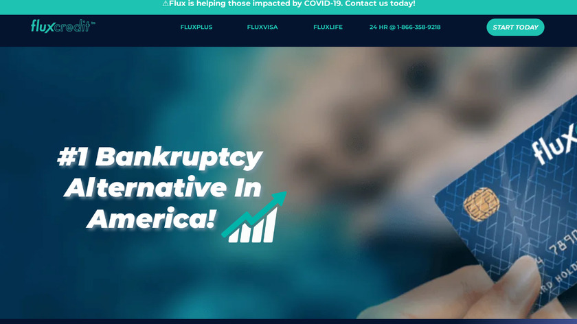 FluxCredit™ Landing Page